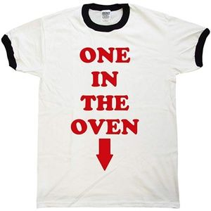 """One In The Oven"" Woman's Tee shirt, Size XL"